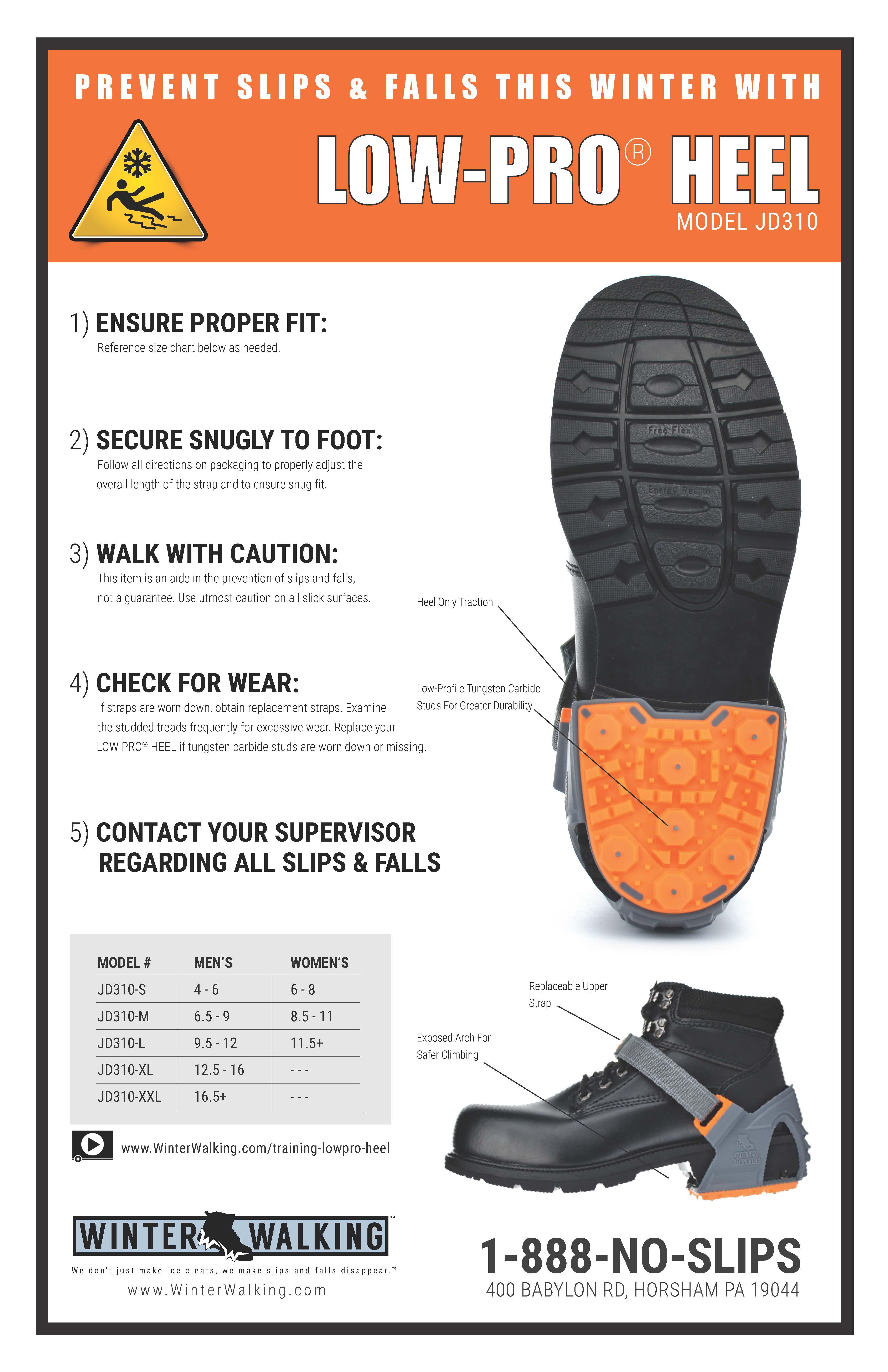 Low Pro Heel - Training Poster
