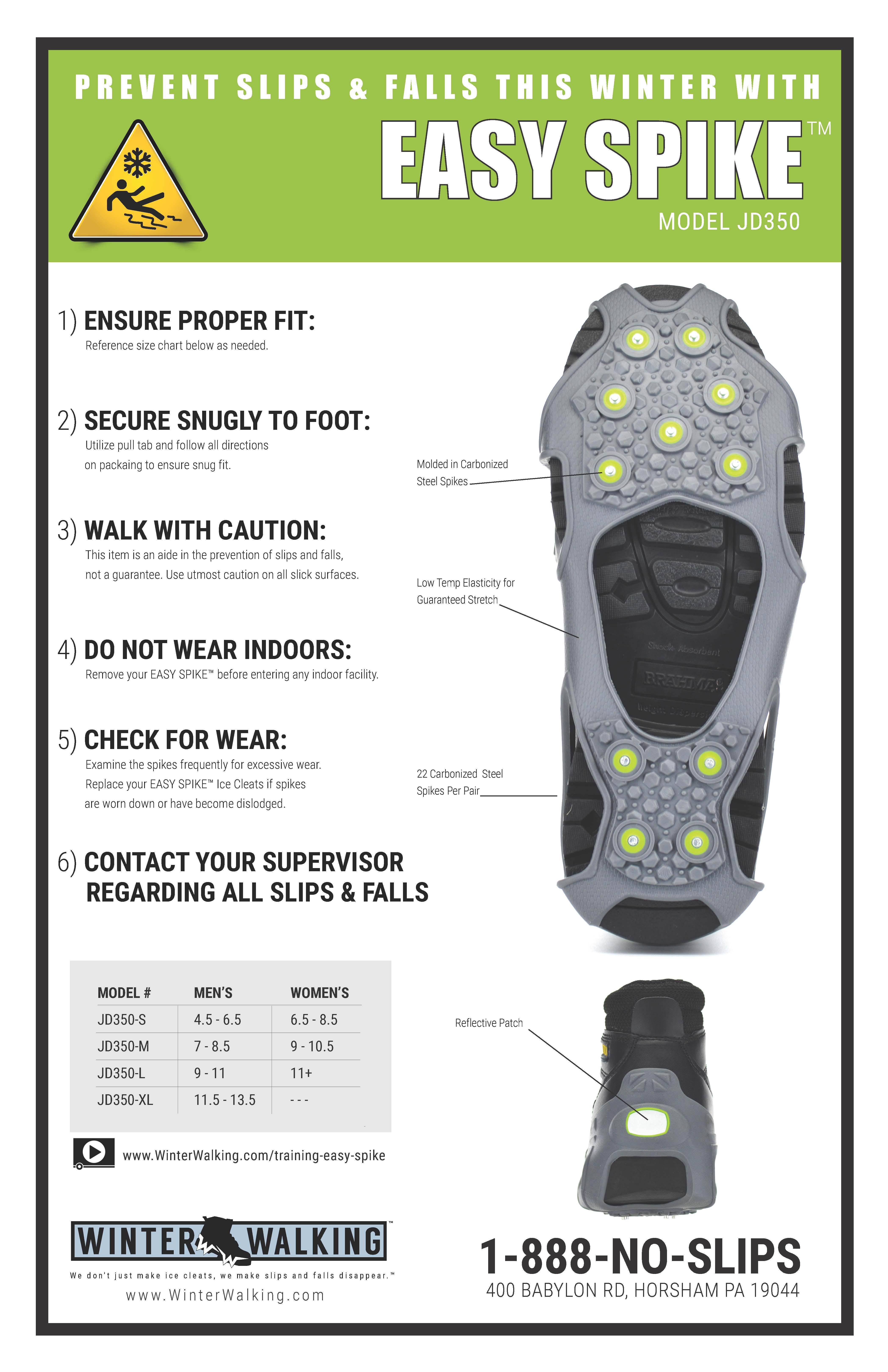 Easy Spike - Training Poster