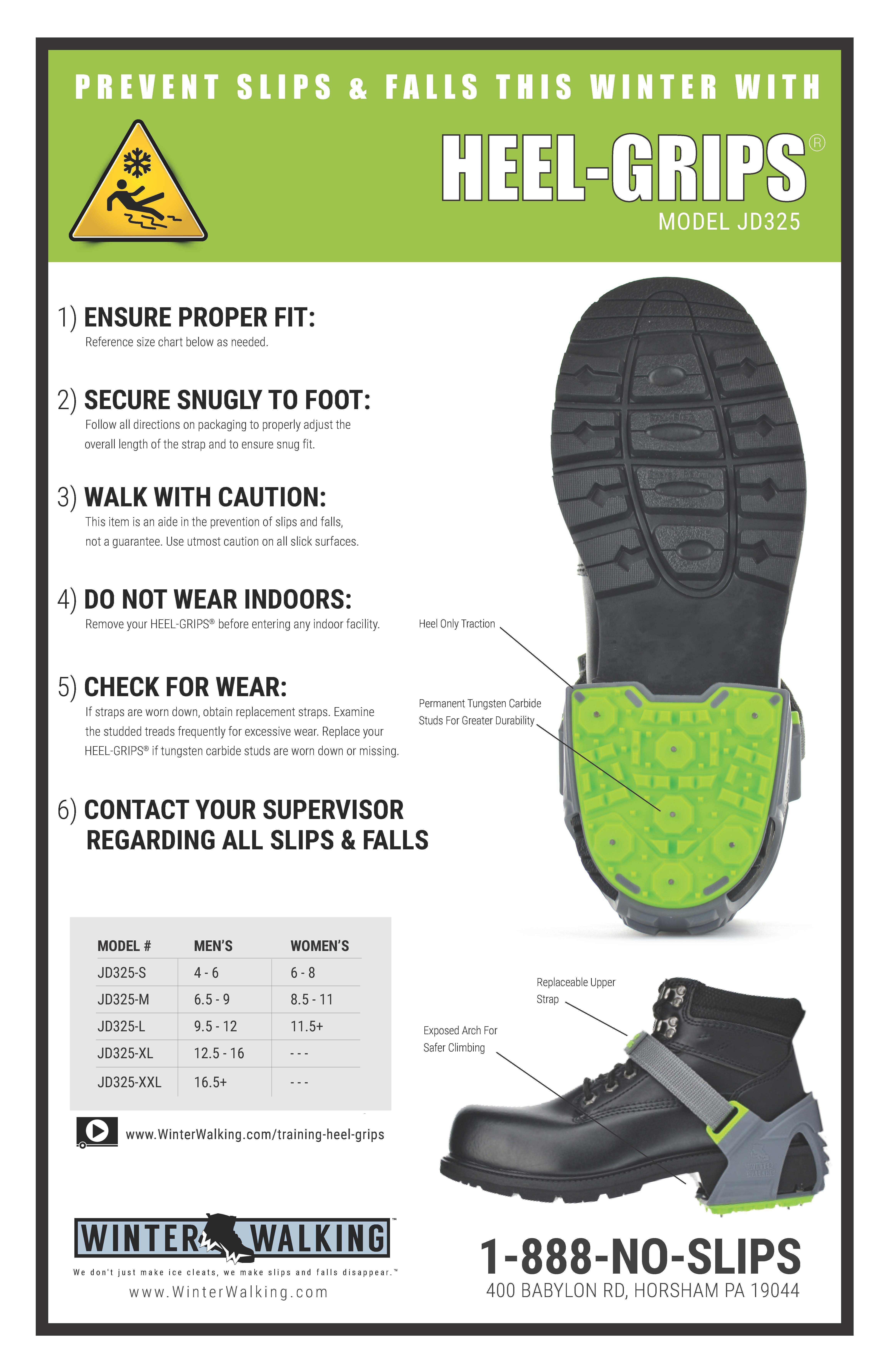 Heel-Grips - Training Poster